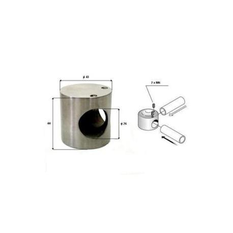 Łącznik rur typ L WC SS304 do rury 25mm