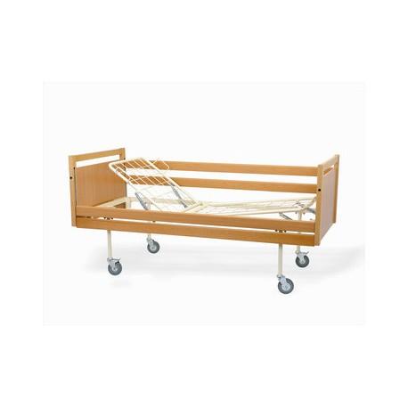 Łóżko rehabilitacyjne A-4 w obudowie drewnianej